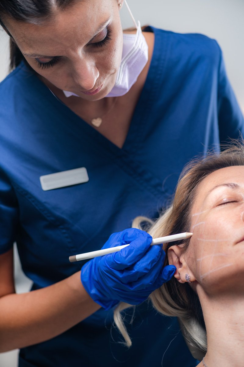 esthetic nurses carry out a majority of the botox and dermal filler injections