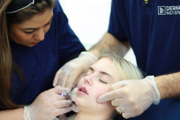 Lip filler course by Derma institute