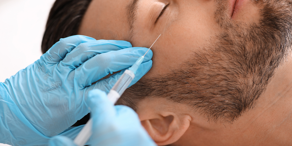 In-Demand Cosmetic Injectable Treatments for Men